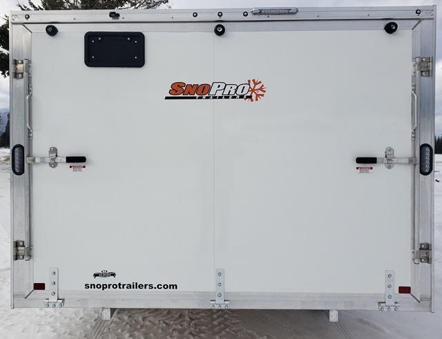 2020 Snopro Hybrid 101x12 2.0 Snowmobile Trailer