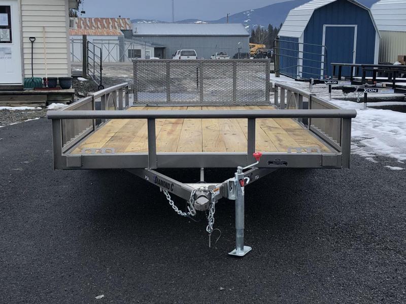 2021 Diamond C Trailers PSA135 Utility Trailer