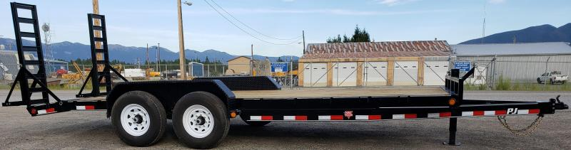 2020 PJ Trailers CCJ2072BSBKS Equipment Trailer