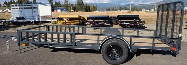 2021 Delco Trailers A-SA771413 Utility Trailer