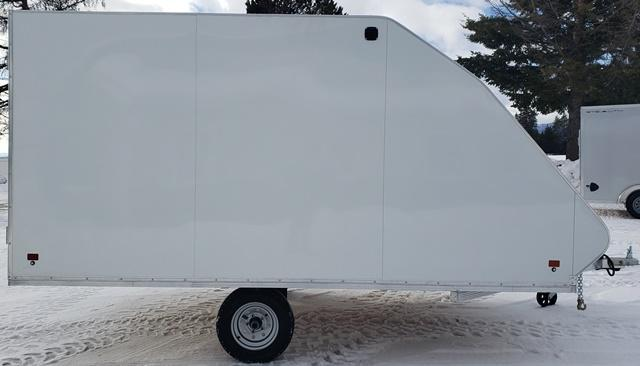 2020 Snopro Hybrid101x12 Snowmobile Trailer