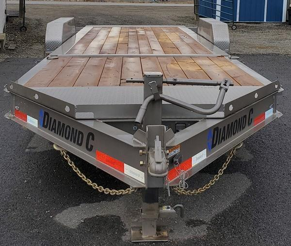 2021 Diamond C Trailers HDT207L22x82 Tilt Equipment Trailer