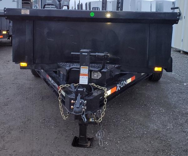 2021 X-On D812A72 83x12 Dump Trailer