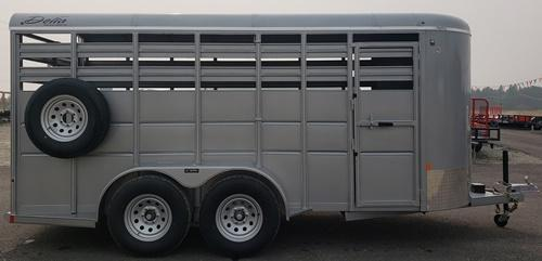2020 Delta Manufacturing 500 Series Livestock Trailer