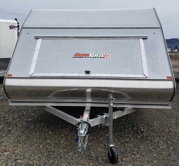 2020 Snopro Hybrid 101x12 Snowmobile Trailer