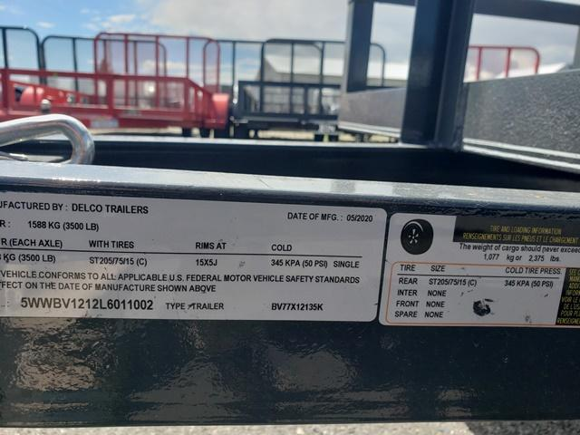 2020 X-On SA771213 Utility Trailer