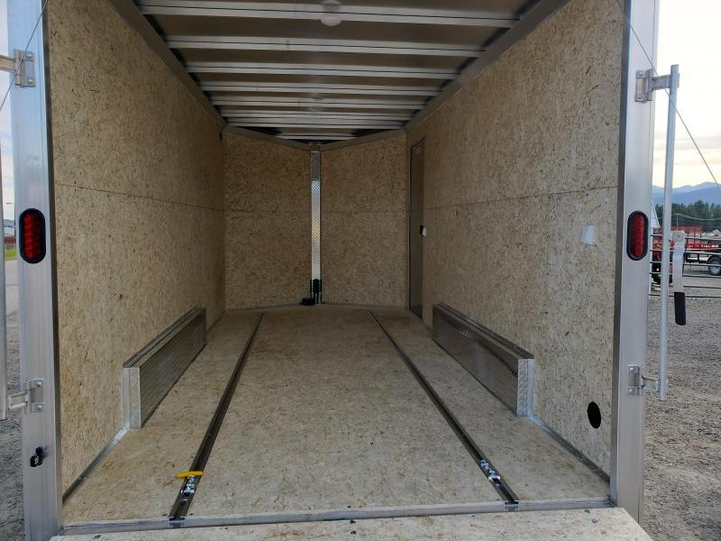 2021 ALCOM C7.5x16S Stealth UTV Enclosed Cargo Trailer
