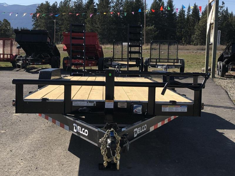 2021 Delco Trailers C520A72 Car / Racing Trailer