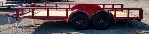 2022 Delco Trailers U616U32CSPR Utility Trailer