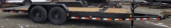 2021 PJ Trailers T6202 Tilt Equipment Trailer