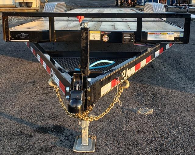 2020 PJ Trailers T5202 TILT Deck Equipment Trailer
