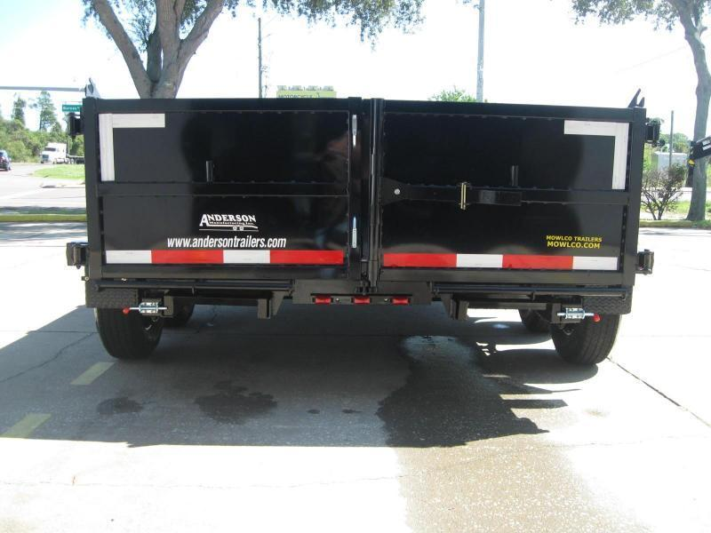 "7x12 Dump Trailer HD 10K / 5 Ton $8377.36 ""Out The Door"""