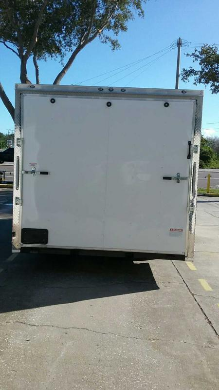 "8.5x16 V-Nose Cargo 7' Tall $5619.77 ""Out The Door"""