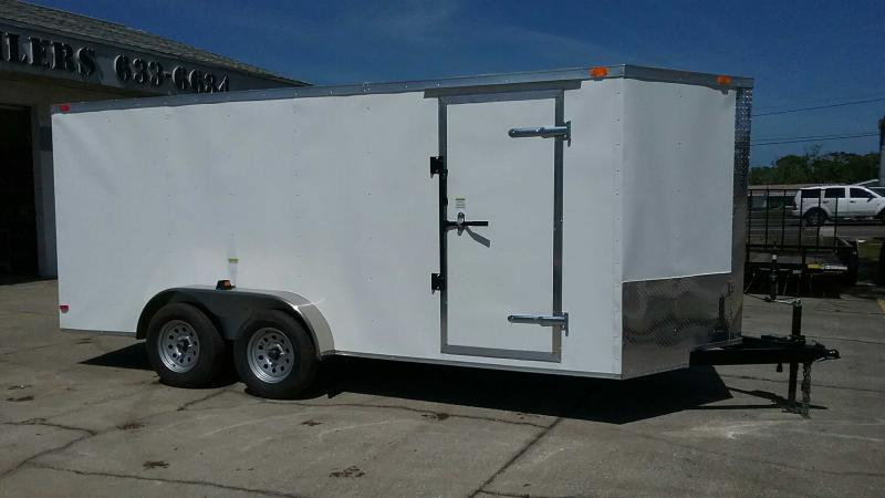 "7x16 V-Nose Cargo $6363.37 ""Out The Door"""