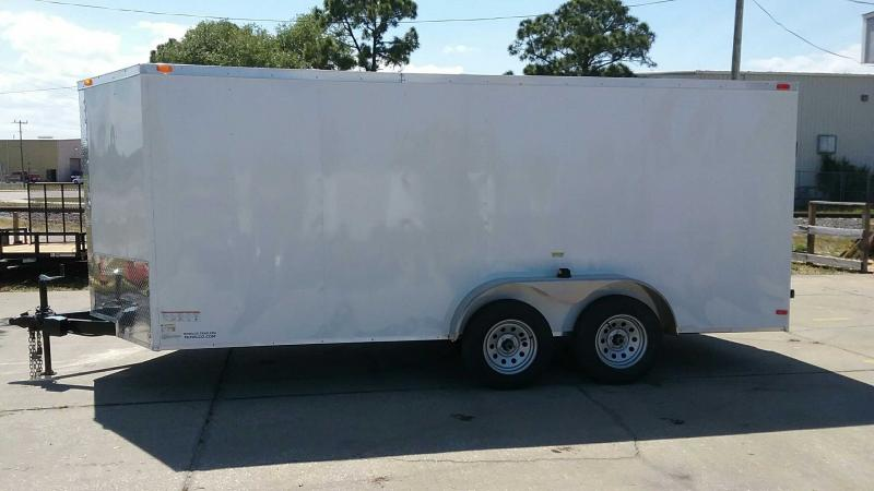 """7x16 V-Nose Cargo $6363.37 """"Out The Door"""""""