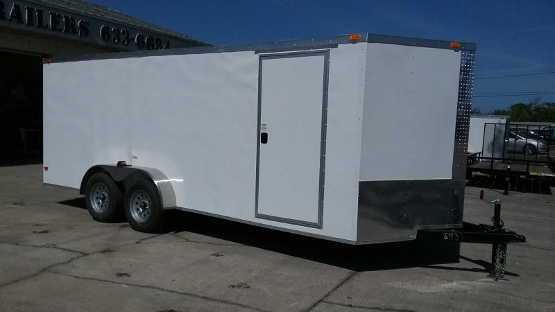 "7x18 V-Nose Cargo $6893.37 ""Out The Door"""