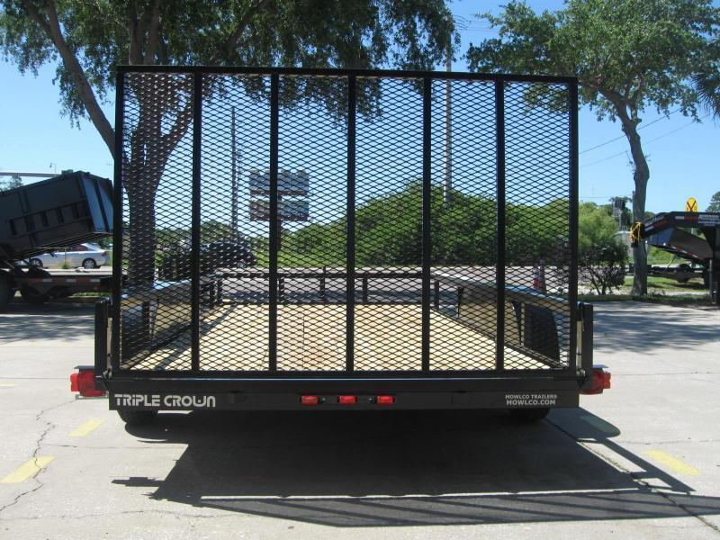 "6.5x14 Utility Trailer + BRAKES $3554.09 ""Out The Door"""