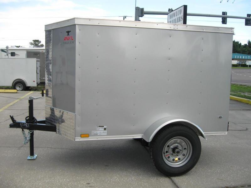 "4x6SA-V Cargo Trailer $2515.57 ""Out The Door"""