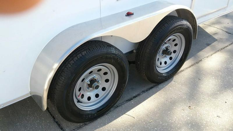 """6x12 V-Nose Cargo 6' 1"""" Height $4231.32 """"Out The Door"""""""