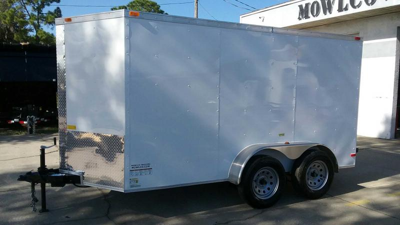 "6x12 V-Nose Cargo 6' 1"" Height $4231.32 ""Out The Door"""