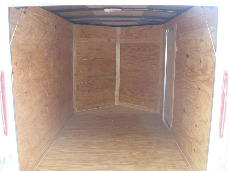 "5x8 V-Nose Cargo Trailer $3599.56 ""Out The Door"""