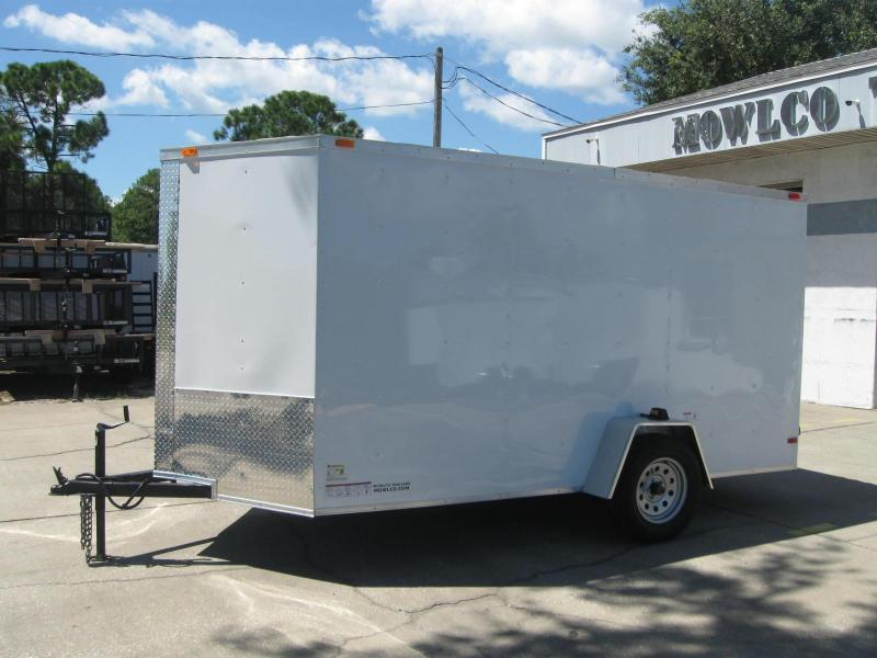"6x12 V-Nose 6' TALL $4673.84 ""Out The Door"""