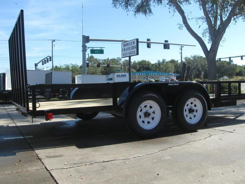 "7x16 ATV Trailer + BRAKES $3589.32 ""Out The Door"""