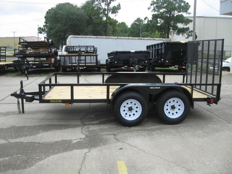 """6.5x12 Tandem + BRAKES $3447.09 """"Out The Door"""""""