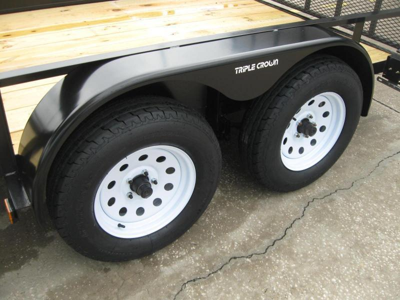 """6.5x12 Tandem + BRAKES $3698.54 """"Out The Door"""""""