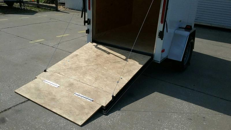 "5x6-V Ramp Door $3281.77 ""Out The Door"""