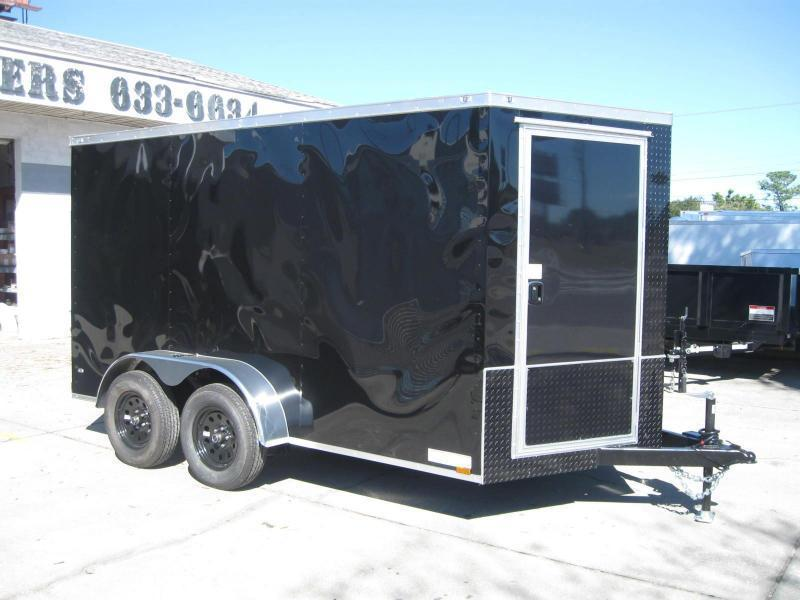 "7x12TA-V Therma Cool Motorcycle Hauler ""$5194.32 Out The Door"""