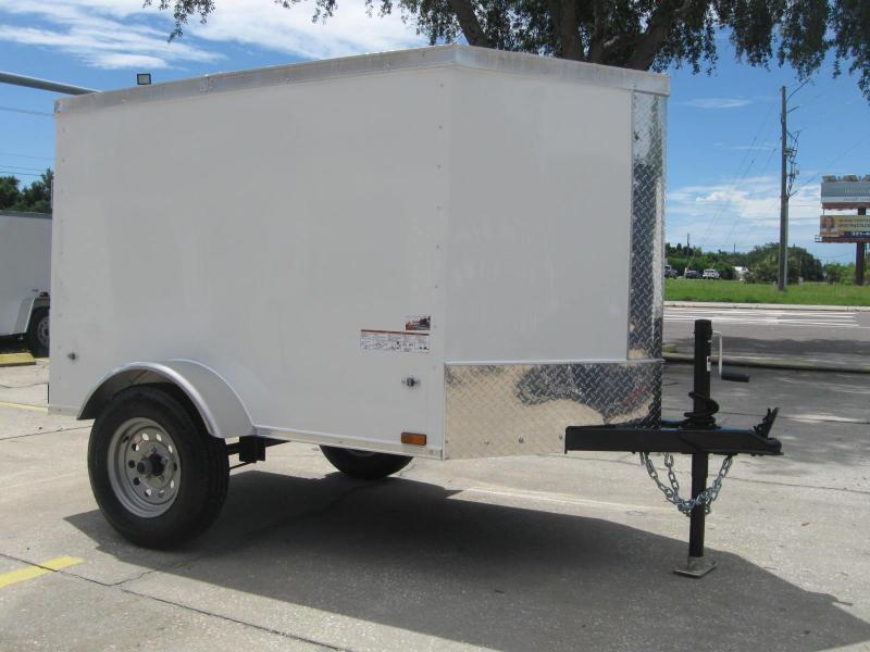 "4x6SA-V Enclosed Cargo Trailer ""$2194.57 Out The Door"""