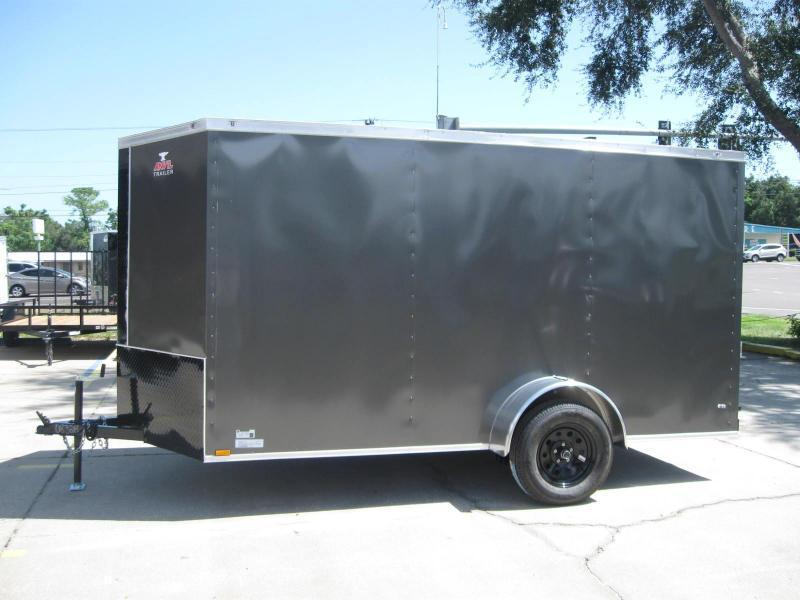 """6x12 Therma Cool + Black Trim $3692.57 """"Out The Door"""""""
