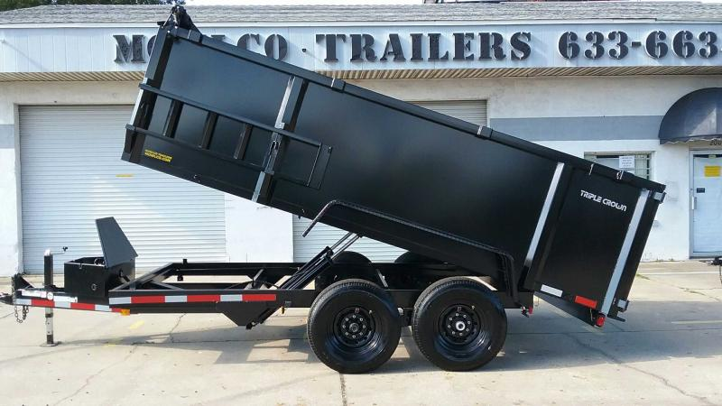 "7x14 Dump 14K / 7 Ton HD Low Pro + TARP $10285.36 ""Out The Door"""