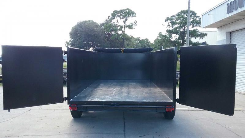 "7x14 Dump 14K / 7 Ton HD Low Pro + TARP $10285.36 ""Out The Door"""