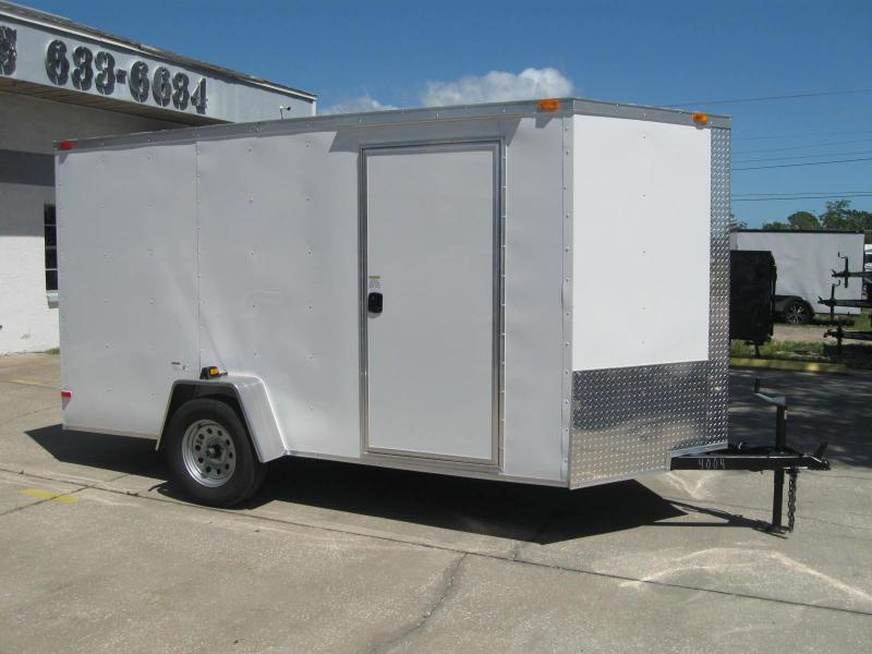 "6x12 V-Nose Cargo 6' 3"" Height $3371.57 ""Out The Door"""