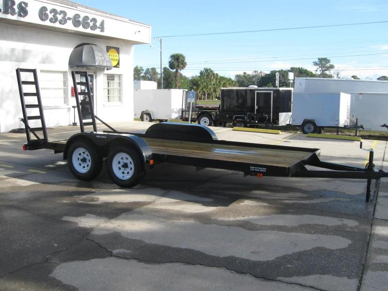 "7x16 Equipment Trailer 7K / 3.5 Ton ""$3268.32 Out The Door"""