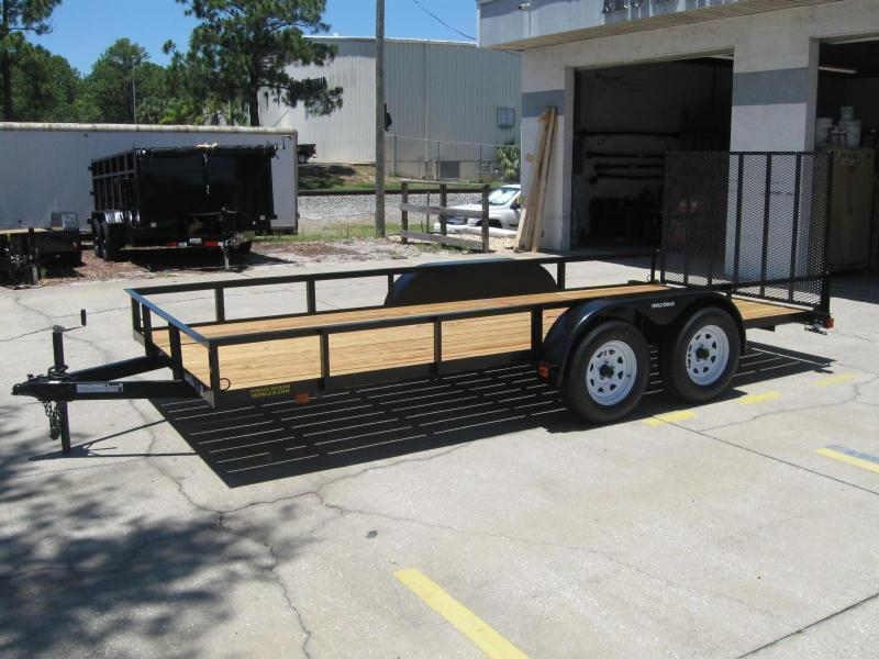 "6.5x16 Utility Trailer + BRAKES $3375.32 ""Out The Door"""
