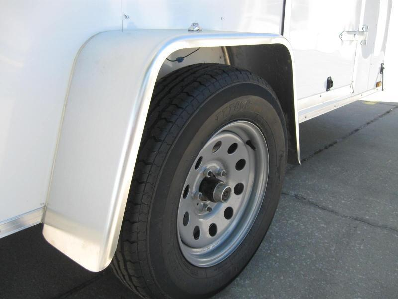 """6x12 V-Nose 7' TALL $4780.84 """"Out The Door"""""""