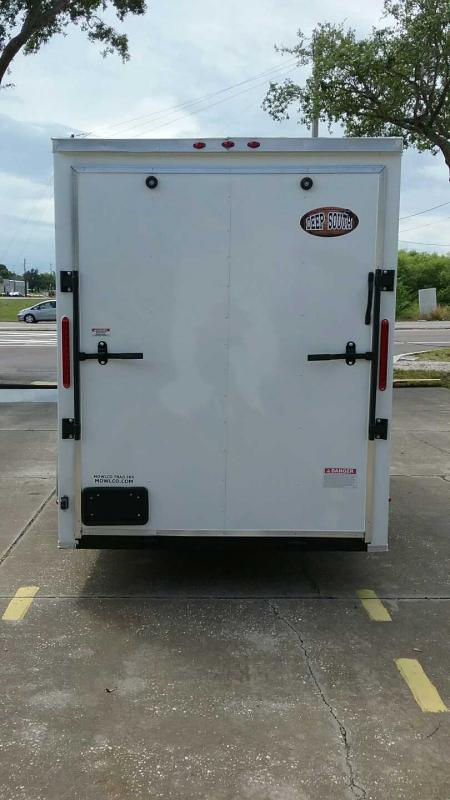 "6x12 V-Nose 7' TALL $4780.84 ""Out The Door"""