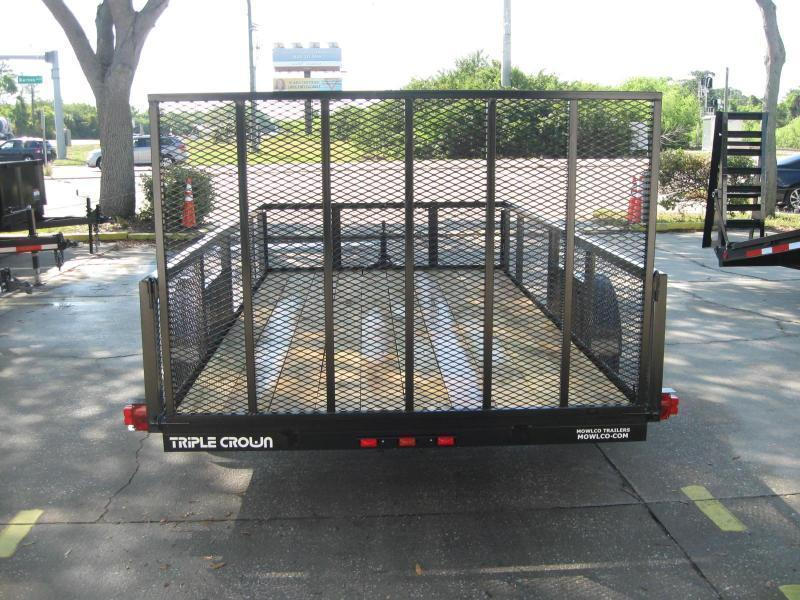 "6.5x12 Utility 2' Mesh Sides + LEDs $2622.57 ""Out The Door"""