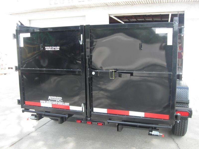 """7x14 Dump 4' SIDES HD 14K / 7 Ton $10391.36 """"Out The Door"""""""