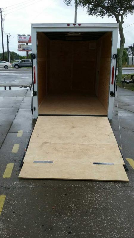"""6x12 V-Nose 6' 3"""" TALL PT Floor $4887.84 """"Out The Door"""""""