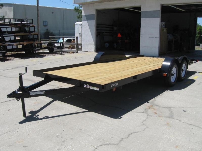 "7x20 Flatbed Carhauler 7K / 3.5 Ton $3910.32 ""Out The Door"""