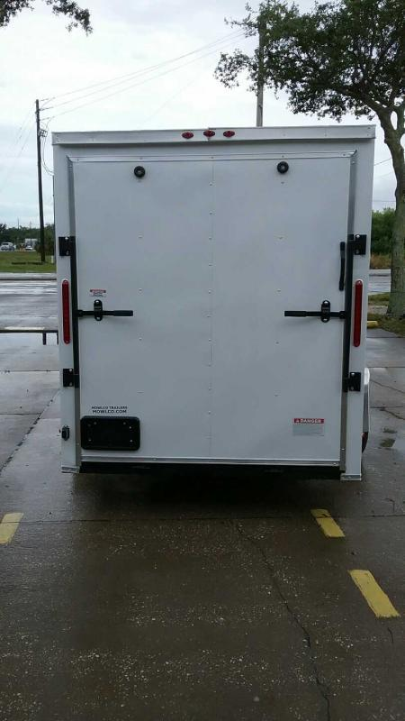 """6x12 V-Nose 6' 3"""" TALL $4673.84 """"Out The Door"""""""