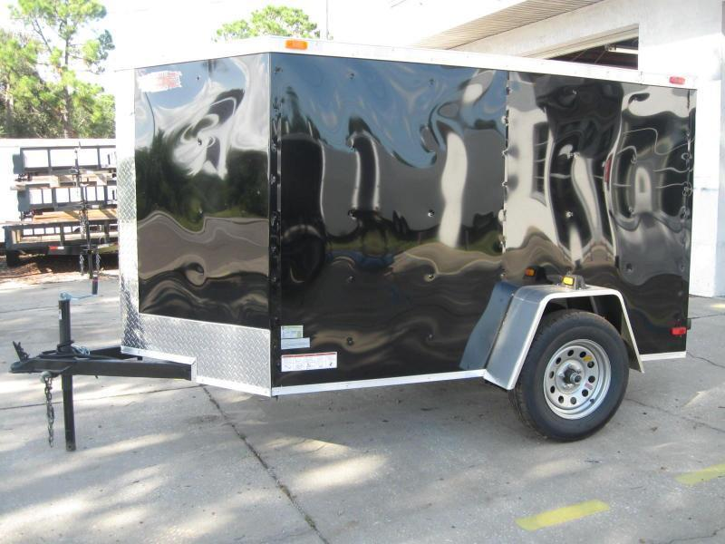 """5x8 V-Nose Cargo $2408.57 """"Out The Door"""""""