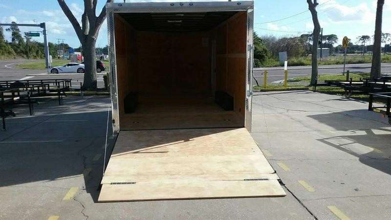 """8.5x20 V-Nose 7' TALL $6467.77 """"Out The Door"""""""