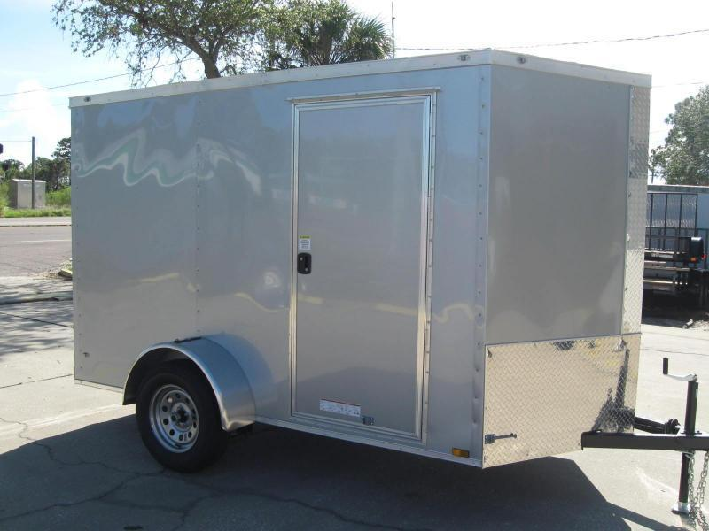 6x10 Therma Cool V-Front Enclosed Cargo Trailer