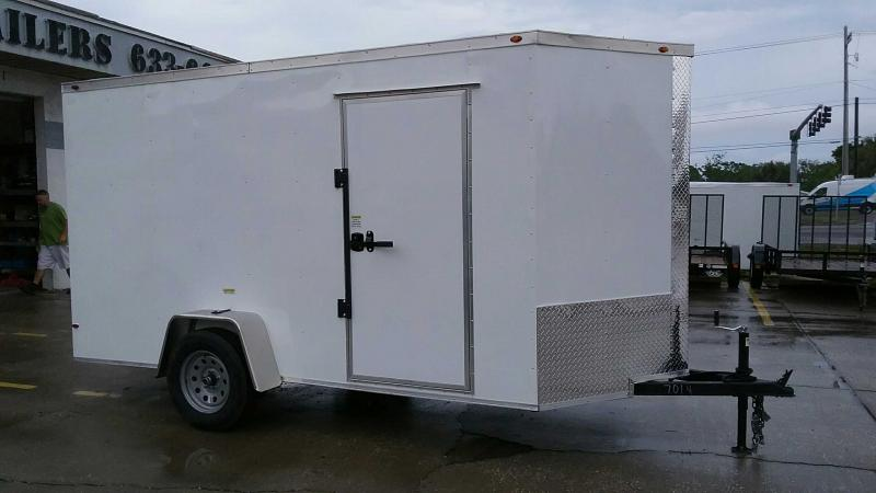 """6x12 V-Nose 6' 6"""" TALL $4673.84 """"Out The Door"""""""