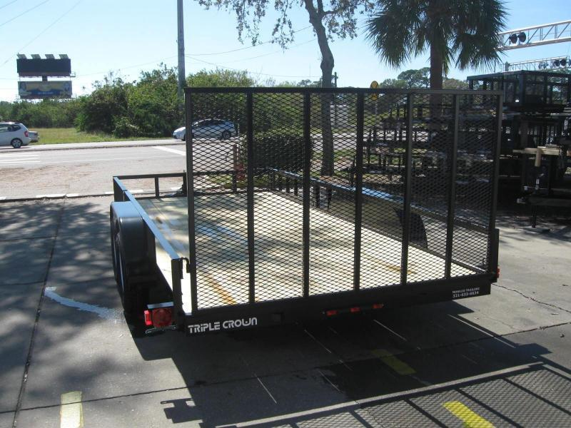 """7x16 ATV Trailer + BRAKES / LEDs """"$3161.32 Out The Door"""""""
